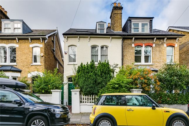 Thumbnail Semi-detached house for sale in Cleveland Road, Barnes, London