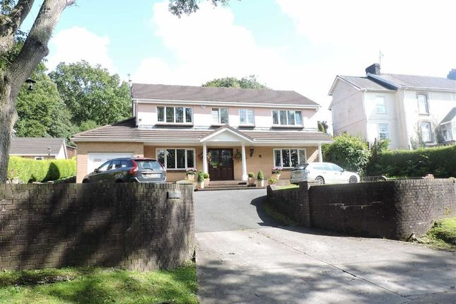 Thumbnail Detached house for sale in Garnswllt Road, Pontarddulais, Swansea