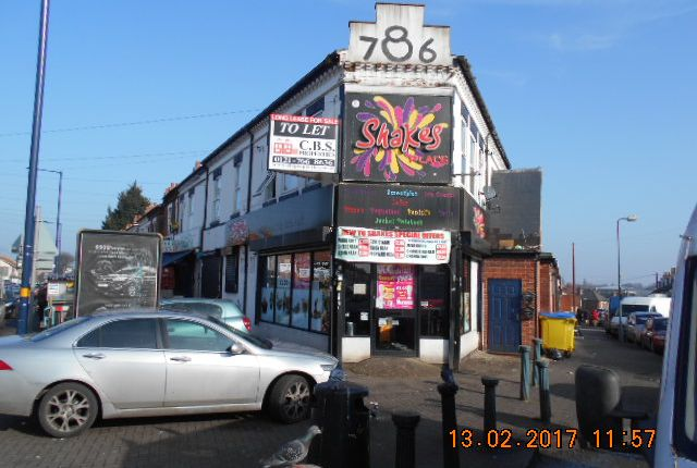 Thumbnail Restaurant/cafe to let in Highfield Road, Alum Rock