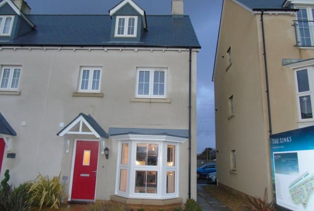 Thumbnail Town house to rent in Y Corsydd, Llanelli