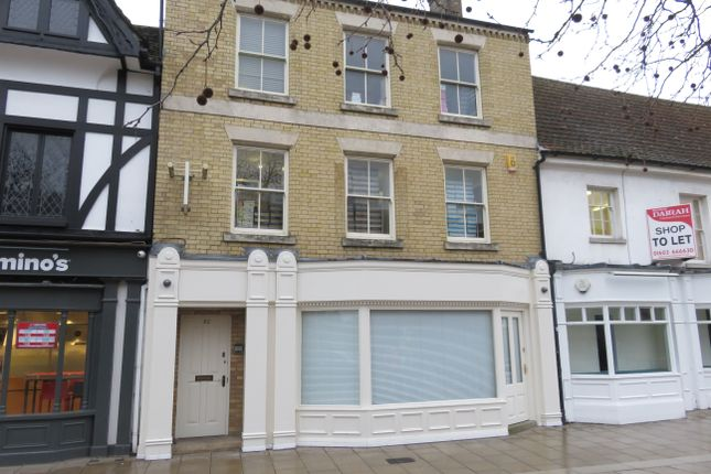 Thumbnail Retail premises for sale in Bridge Street, Peterborough