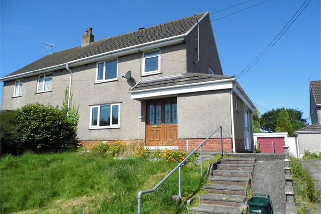 Thumbnail Semi-detached house to rent in Parc Richard, Llanelli, Carmarthenshire