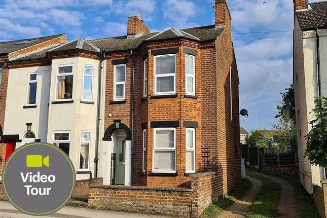 Thumbnail End terrace house for sale in Heath Road, Leighton Buzzard