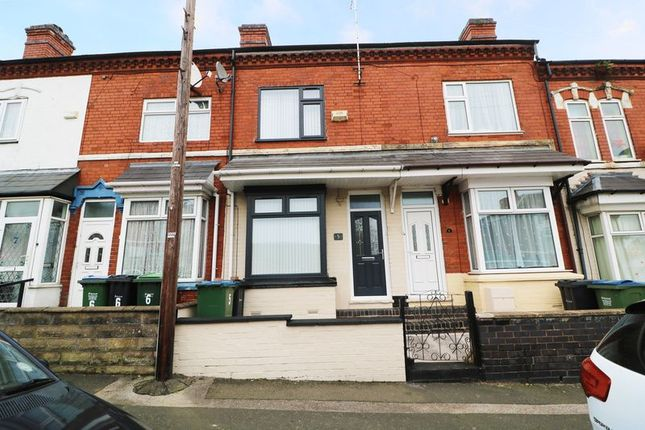 Thumbnail Terraced house for sale in Silverton Road, Smethwick