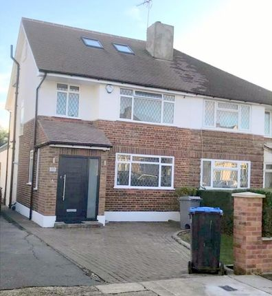 Thumbnail Semi-detached house to rent in Branksome Way, Kenton, Middlesex