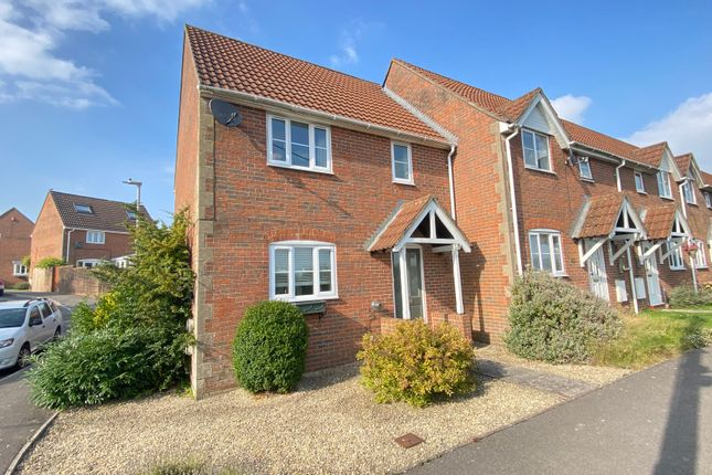 Thumbnail End terrace house to rent in Cleyhill Gardens, Chapmanslade, Westbury