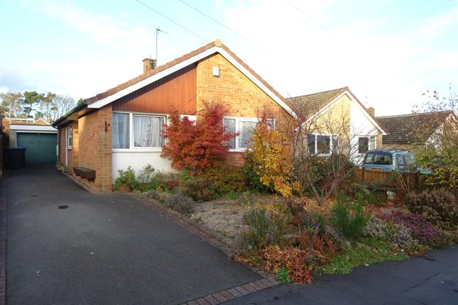 Thumbnail Detached bungalow for sale in Park Avenue, Markfield, Leicestershire