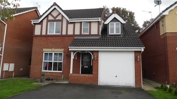 Thumbnail Detached house for sale in Telford Drive, St Helens, St Helens