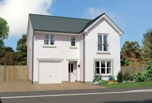"Thumbnail Detached house for sale in ""Glenmore"" at Montrose Road, Arbroath"