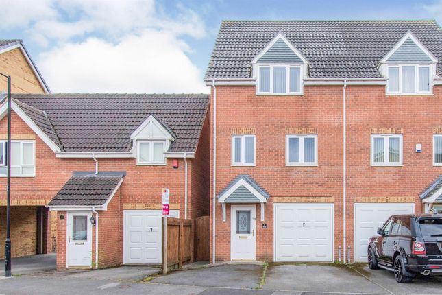 Thumbnail Semi-detached house for sale in Walstow Crescent, Armthorpe, Doncaster