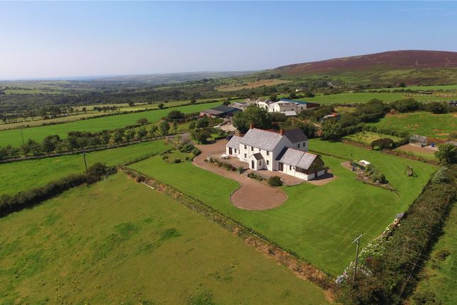 Thumbnail Farmhouse for sale in Carreg Grwca, Glandwr, Whitland, Pembrokeshire