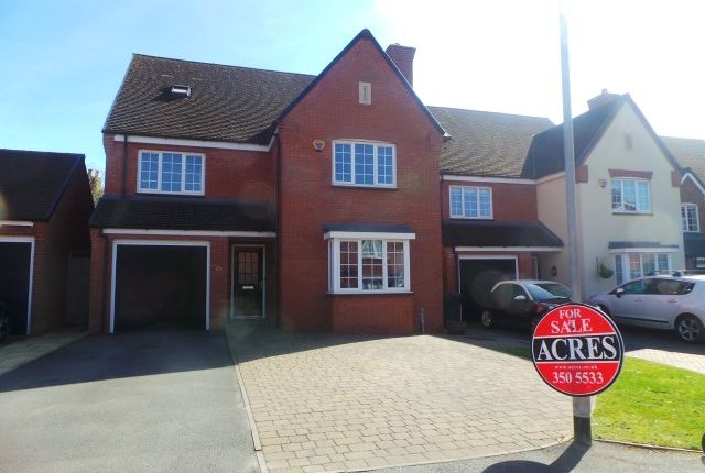 Thumbnail Detached house for sale in Birmingham Road, Wylde Green, Sutton Coldfield