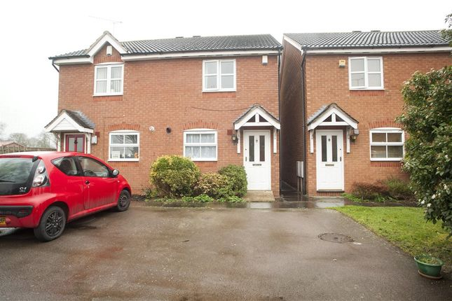 Thumbnail Semi-detached house for sale in Mill Close, Wolston, Coventry, West Midlands