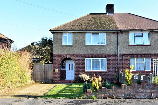 Thumbnail Semi-detached house for sale in Worsley Road, Frimley, Surrey