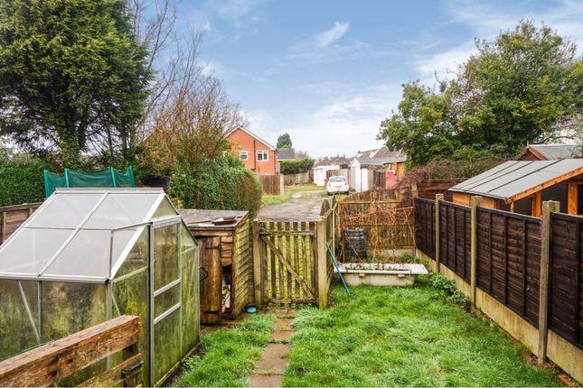 Rear Garden of Goscote Road, Pelsall, Walsall WS3