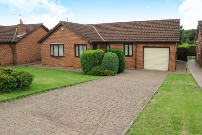 Thumbnail Detached bungalow for sale in Hallcroft Close, Billingham