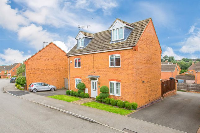 Thumbnail Detached house for sale in Tailby Avenue, Kettering