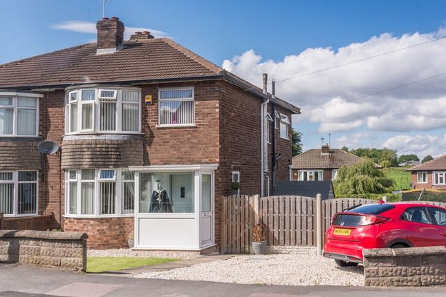 Thumbnail Semi-detached house for sale in Wilson Road, Coal Aston, Dronfield