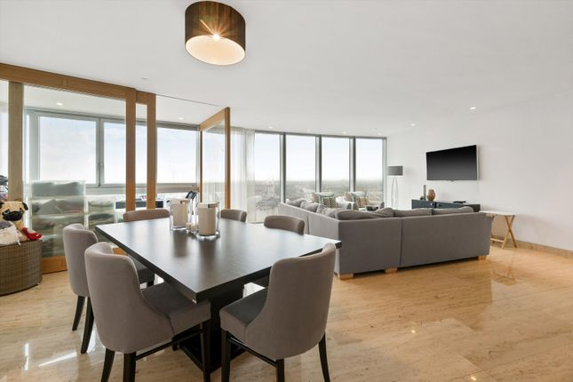 Thumbnail Flat for sale in The Tower, 1 St George Wharf, Vauxhall, London