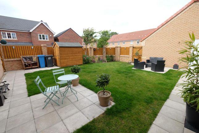 Rear Garden of Summerhouse Drive, Norton, Sheffield S8