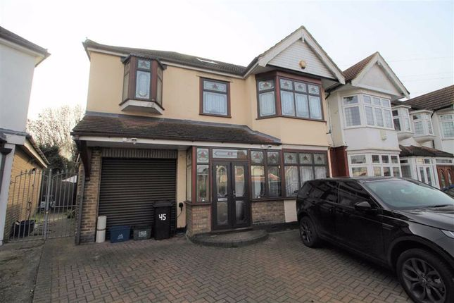 Thumbnail Semi-detached house to rent in Royston Gardens, Ilford, Essex