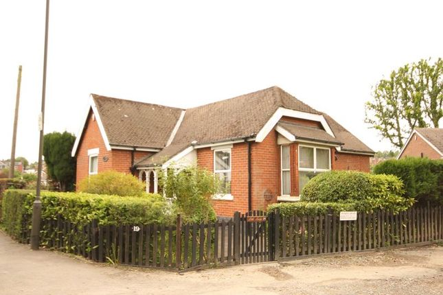 Thumbnail Detached bungalow for sale in Newhall Road, Swadlincote, Derbyshire