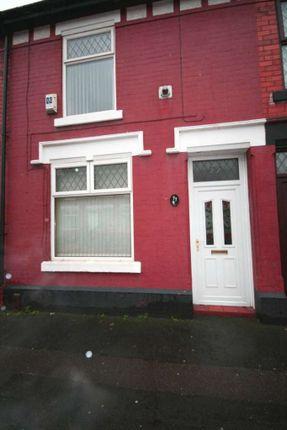 Thumbnail Terraced house to rent in Slater Street, Latchford, Warrington