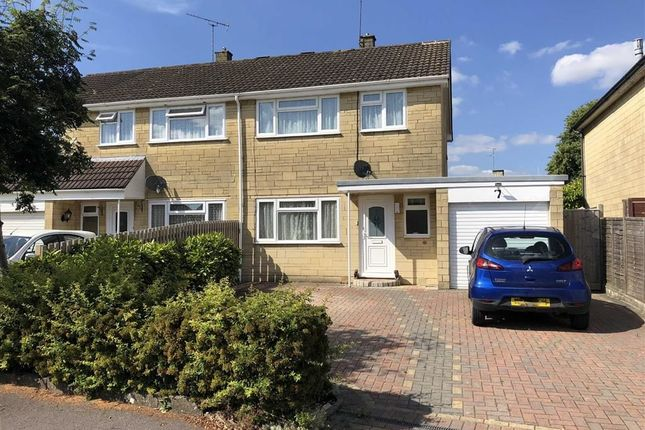 Thumbnail Semi-detached house for sale in York Close, Chippenham, Wiltshire