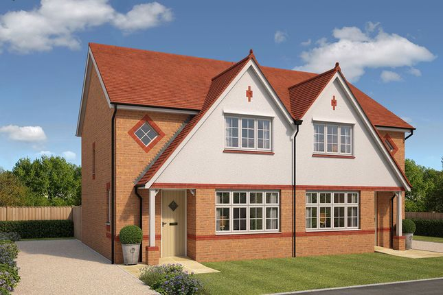 """Thumbnail Semi-detached house for sale in """"Letchworth"""" at Boundary Drive, Amington, Tamworth"""