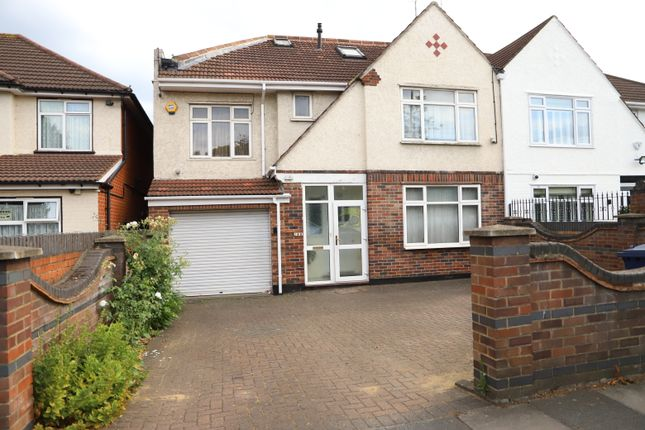 Thumbnail Semi-detached house to rent in Uxbridge Road, Southall, Middlesex