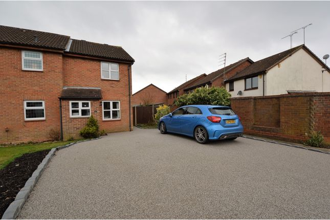 Thumbnail Semi-detached house for sale in Marlborough Way, Billericay