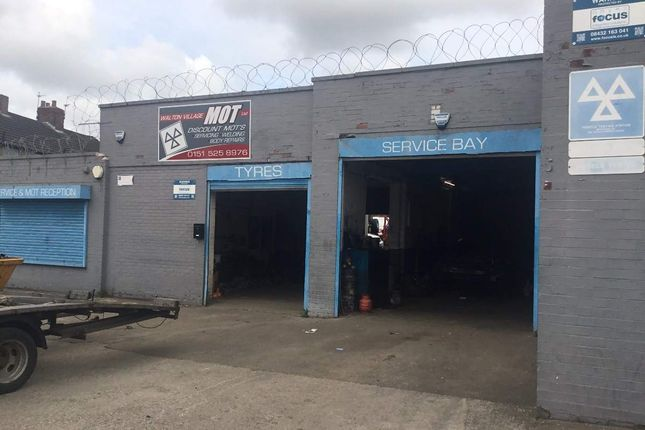 Thumbnail Parking/garage for sale in Haggerston Road, Walton, Liverpool