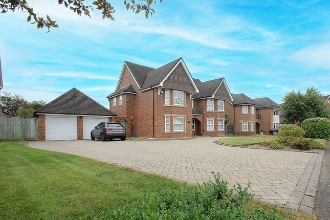 Thumbnail Detached house for sale in Cryfield Heights, Gibbett Hill, Coventry