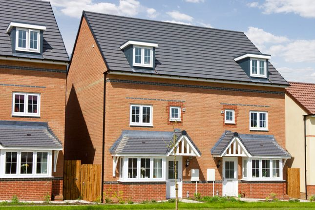 "Thumbnail End terrace house for sale in ""Woodbridge"" at Bruntcliffe Road, Morley, Leeds"