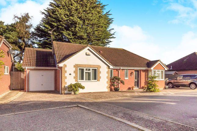 Thumbnail Detached bungalow for sale in Bellview Close, Briston, Melton Constable