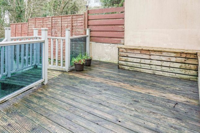 Decking of Dart Close, Plymouth PL3