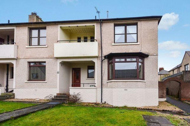 Exterior of Castleview Terrace, Haggs, Bonnybridge FK4