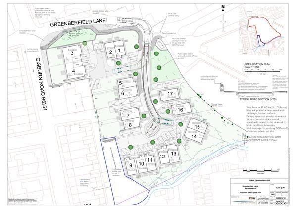Thumbnail Land for sale in Development Site, Greenberfield Lane, Barnoldswick