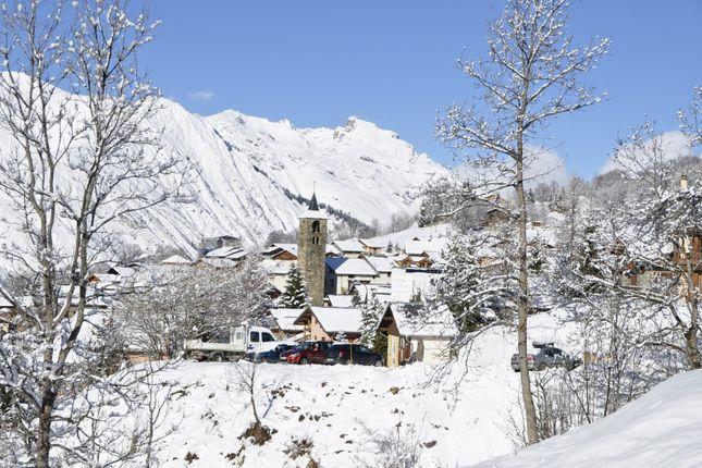 Location of Saint Martin De Belleville, Savoie, France