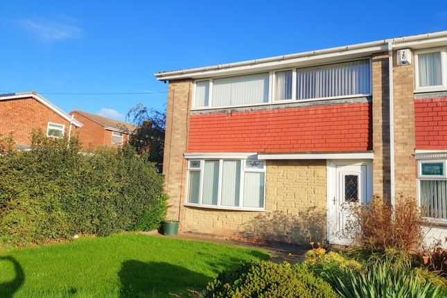 Thumbnail Semi-detached house to rent in Hillhead Parkway, Chapel House, Newcastle Upon Tyne
