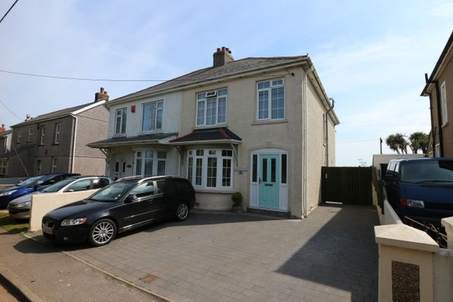 Thumbnail Semi-detached house for sale in Park Holly, Treswithian, Camborne