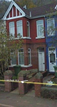 Thumbnail Shared accommodation to rent in Llantwit Road, Pontypridd, Mid Glamorgan