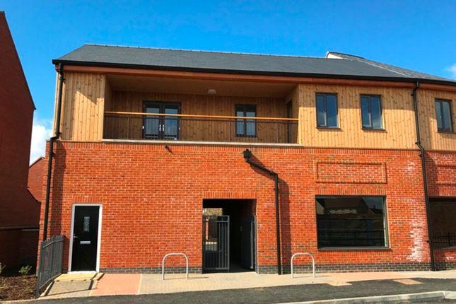 Thumbnail Flat for sale in Flat 6 'roman Gate', Great Denham