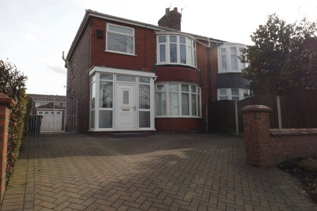 Thumbnail Semi-detached house to rent in Broadway, Chadderton, Oldham