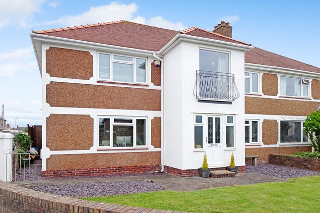 Thumbnail Semi-detached house for sale in Llangwm Way, Porthcawl