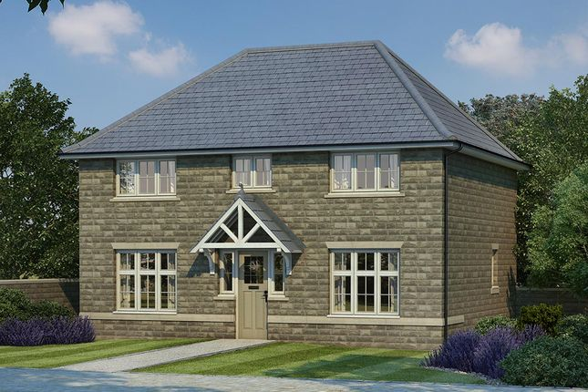 Thumbnail Detached house for sale in Woodlands, Calverley Lane, Leeds, West Yorkshire