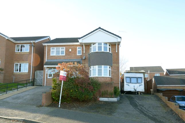 4 bed detached house for sale in Pond Lane, New Tupton, Chesterfield