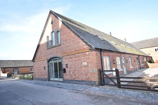 Thumbnail Barn conversion for sale in The Shippon, Aychley Barns, Market Drayton