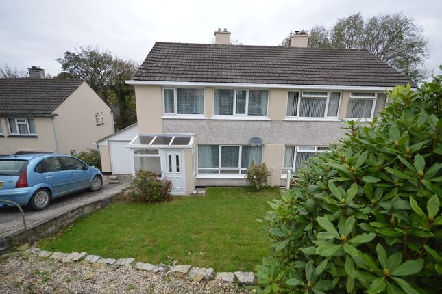 Thumbnail Semi-detached house to rent in Malabar Road, Truro