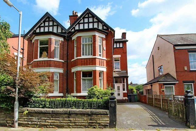 Thumbnail Semi-detached house for sale in Poppythorn Lane, Prestwich, Manchester